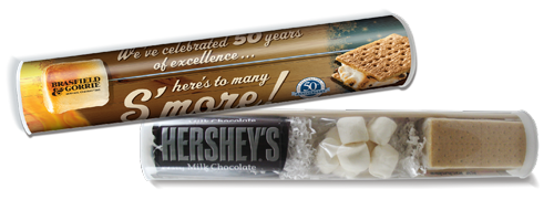 Gift package of smores
