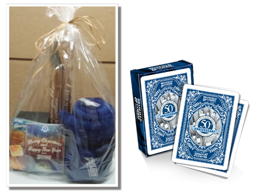 50 smore years gift package with deck of cards